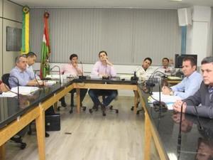 Segunda sessão da CPI ocorreu na manhã desta sexta (14) (Foto: Édio Hélio Ramos/Divulgação)