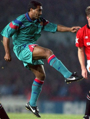 romario barcelona manchester united (Foto: Agência Getty Images)