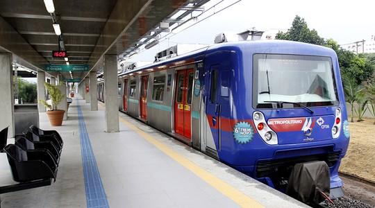 Trem de São Paulo (Foto: Sérgio Andrade / Governo de São Paulo)