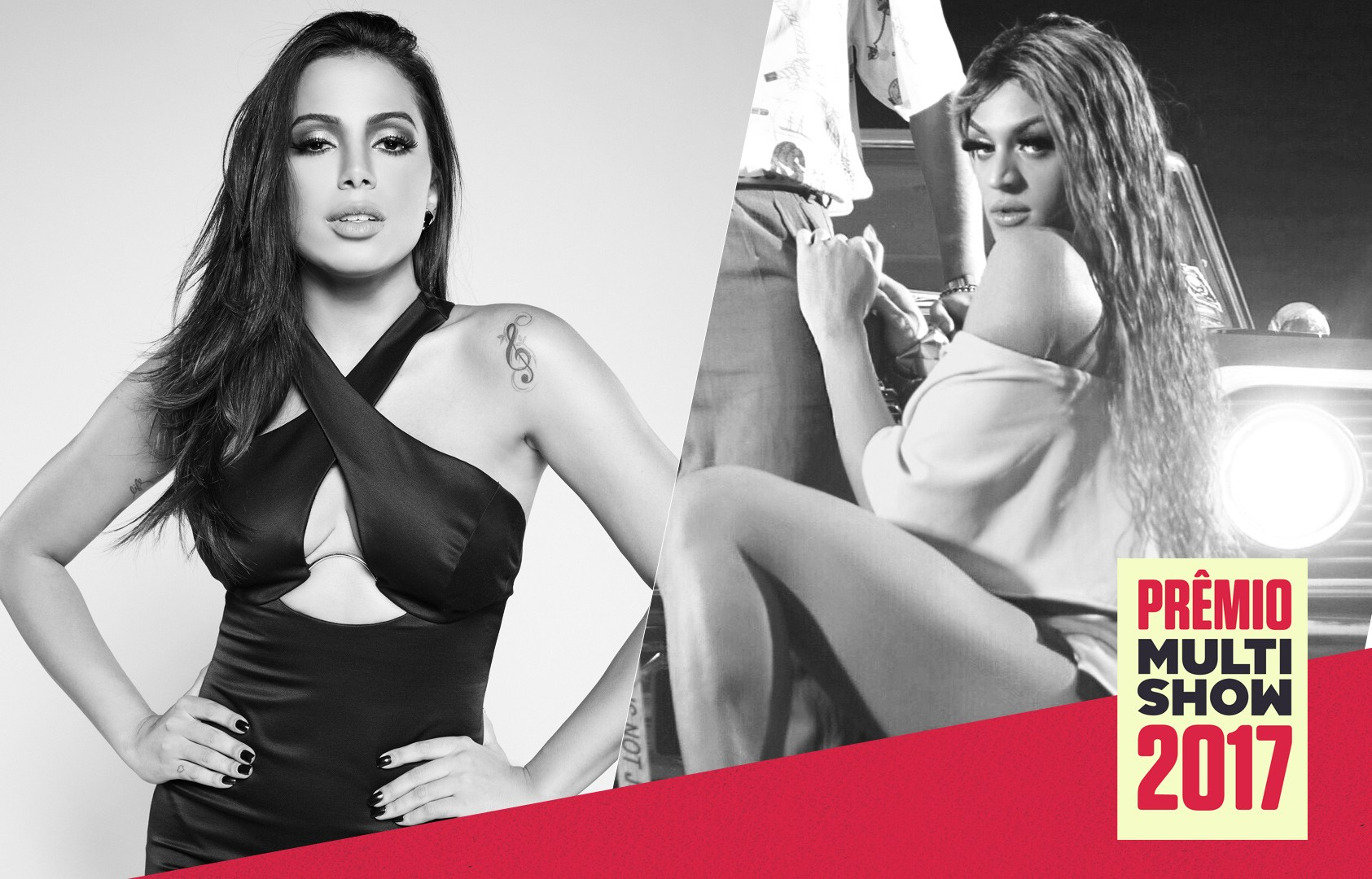 Anitta e Pabllo Vittar vo arrasar juntas no Prmio Multishow 2017 (Foto: Multishow)