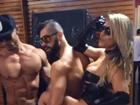 Ex-BBB Yuri posa para ensaio sensual com ex de Adriano Imperador