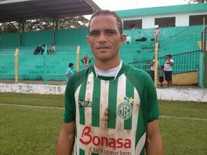 Pedro Panca, volante do Tocantinópolis (Foto: Fabrício Soveral/Globoesporte.com)
