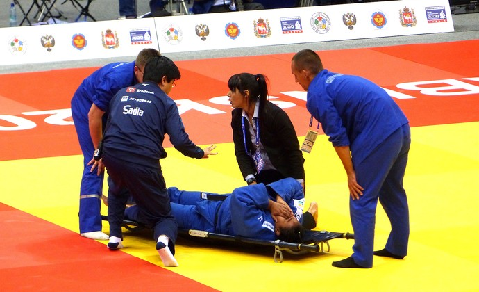 Maria Suelen perde na final luta judô Mundial (Foto: Raphael Andriolo)