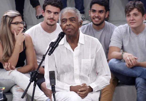 Gilberto Gil (Foto: Celso Tavares / Ego)