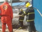 Incêndio destrói alojamento de unidade de regime semiaberto
