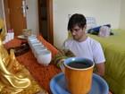 Por 'calma', candidato de medicina na Fuvest alia meditação aos estudos