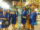 Ex-Rei Momo Alex Oliveira fala sobre perda de 110 quilos em desfile no Rio