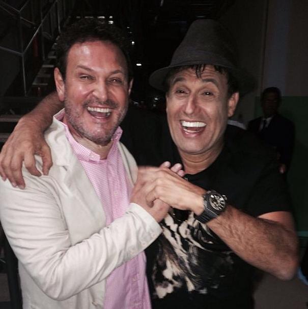 Luis Ricardo e Sérgio Mallandro (Foto: Reprodução/Instagram)