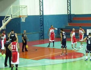 América-SP x LSB - Paulista de basquete (Foto: Rafaela Gonçalves/Globoesporte.com)
