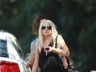 Lindsay Lohan tem carteira roubada em viagem ao Havaí, diz site