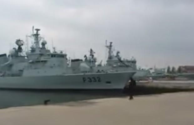 Lançamento de drone português virou piada ao 'falhar miseravalmente' em Base Naval em Lisboa (Foto: Reprodução/YouTube/Pedro Lima)