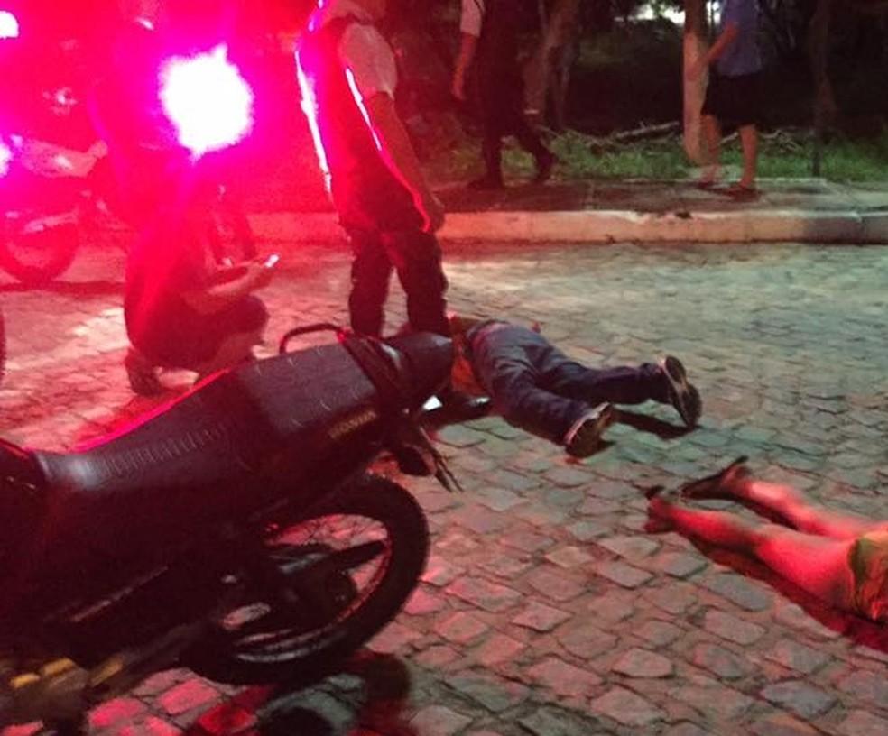 Menina de 13 anos é apreendida e tio preso por assaltos na UFRN (Foto: Divulgação/DSP UFRN)