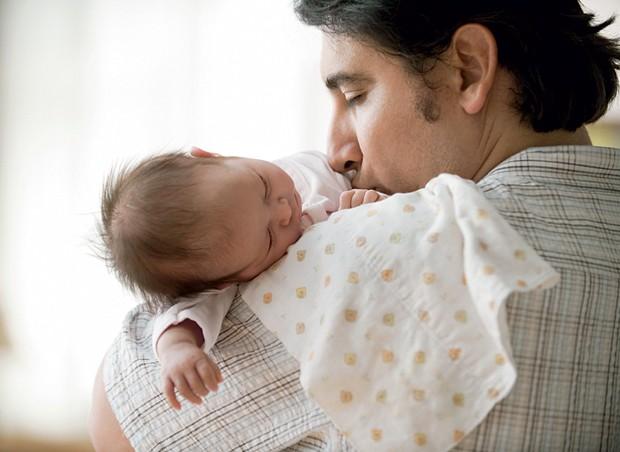 Pai; filho; dormir; amor (Foto: Getty Images)
