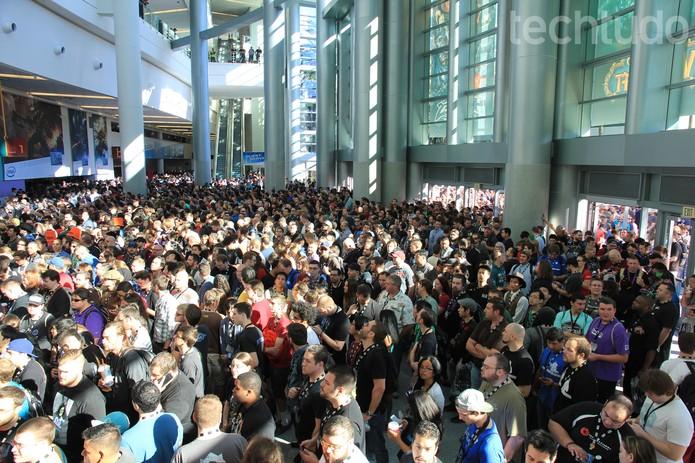 Blizzcon 2014 recebeu muita gente no primeiro dia (Foto: Divulgação)