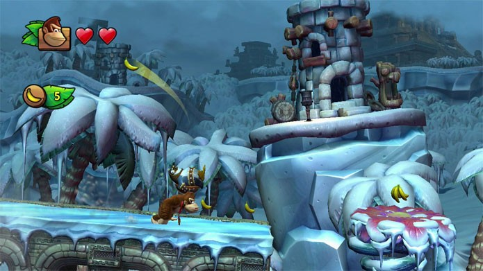 Donkey Kong Country: Tropical Freeze (Foto: Divulgação)