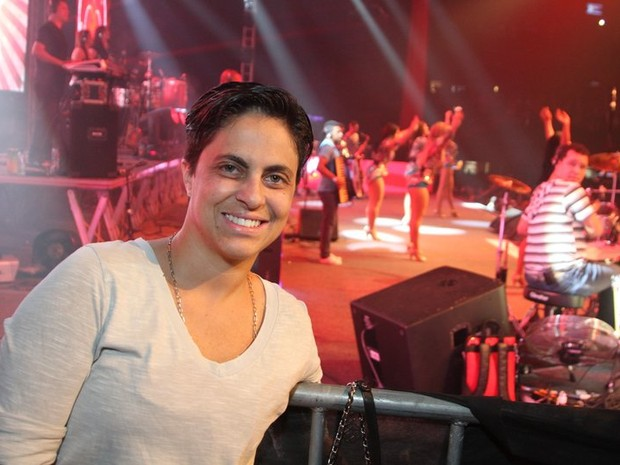 Thammy Miranda em show no Rio (Foto: Anderson Borde/ Ag. News)