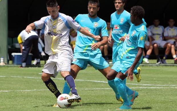 Felipe Anderson Macaé x Seleção Sub-20 (Foto: Tiago Ferreira / Macaé)