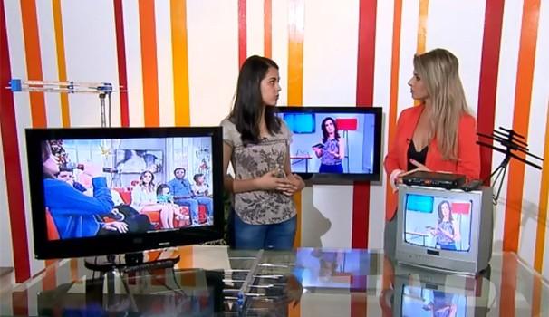TV Digital (Foto: Reprodução/ RPC)