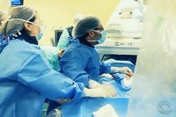 Reportagem do Teledomingo sobre saúde (Foto: Reprodução/RBS TV)
