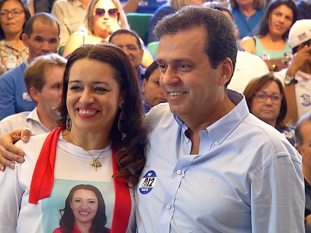 PDT confirma Carlos Eduardo como candidato a prefeito da cidade (Foto: Reprodução/Inter TV Cabugi)
