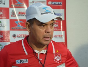 Jazon Vieira, técnico do Auto Esporte  (Foto: Pedro Alves / GloboEsporte.com/pb)