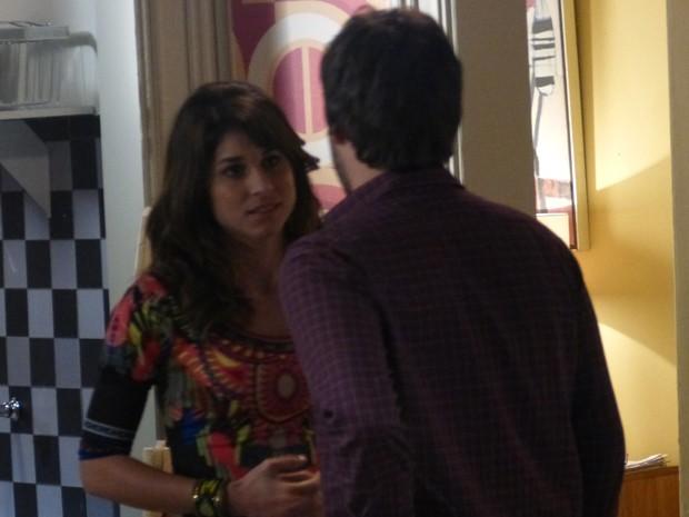Davi dá uma força para Manu e diz que ela sempre pode contar com ele (Foto: Geração Brasil/TV Globo)