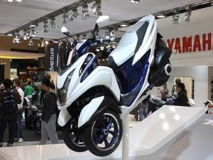 Yamaha Tricity (Foto: Rafael Miotto/G1)