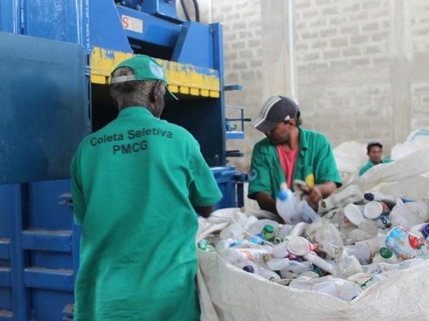 Previsão é que sejam reciclados cerca de 170 toneladas de lixo mês (Foto: Divulgação/Prefeitura de Campos)