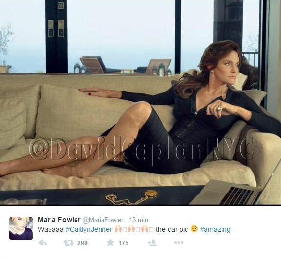 Caitlyn Jenner (Foto: Reprodução/Twitter)