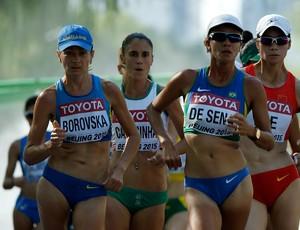 Érica de Sena marcha 20km Mundial de Atletismo de Pequim