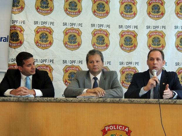 Resultado da operação foi anunciado durante coletiva de imprensa (Foto: Anna Tiago/G1)