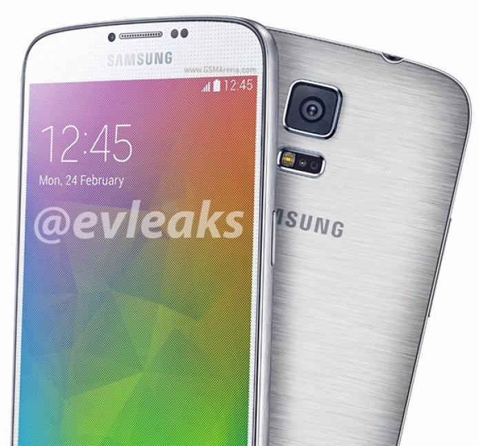 Galaxy F: Suposto sucessor do Galaxy S5 (Foto:Reprodução/@evleaks)