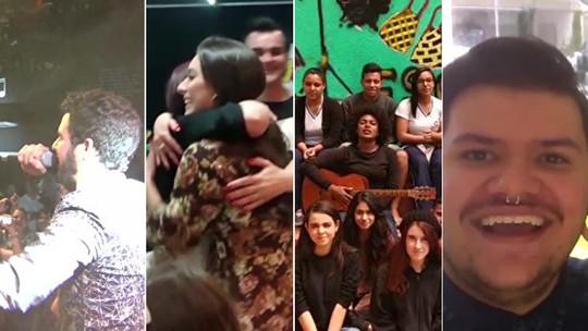Participantes do 'The Voice Brasil' mostram fama após o programa