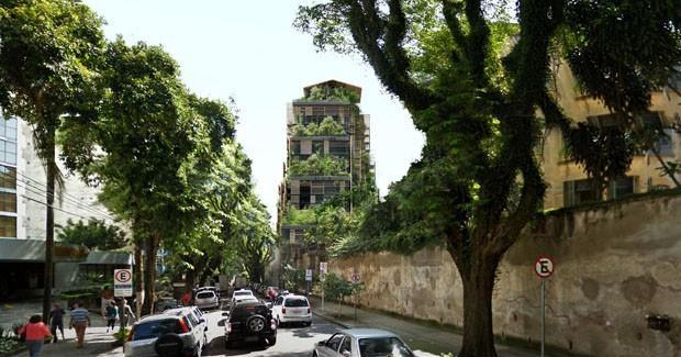Torre assinada por Jean Nouvel, em São Paulo (Foto: Divulgação)