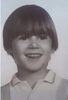 Patricia Ribeiro quando criança (Foto: Reprodução)