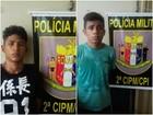 Jovens são presos por suspeita de tráfico de drogas no interior de RR