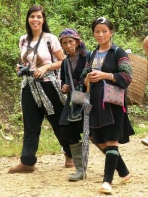 Fabiana trabalhou na Ásia durante anos (Foto: Fabiana Mesquita / Arquivo Pessoal)