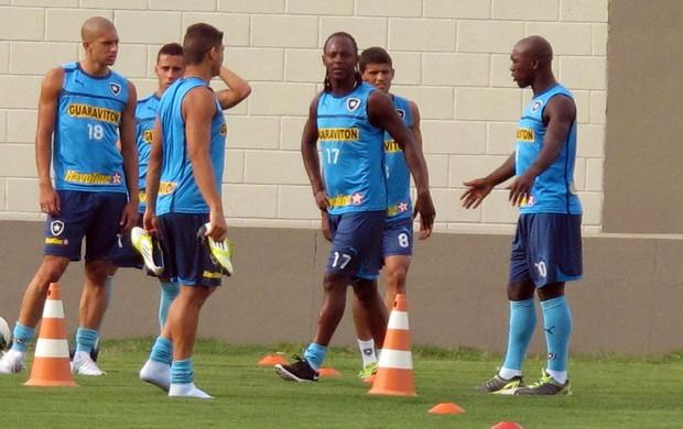 Treino do Botafogo (Foto: Thales Soares / Globoesporte.com)