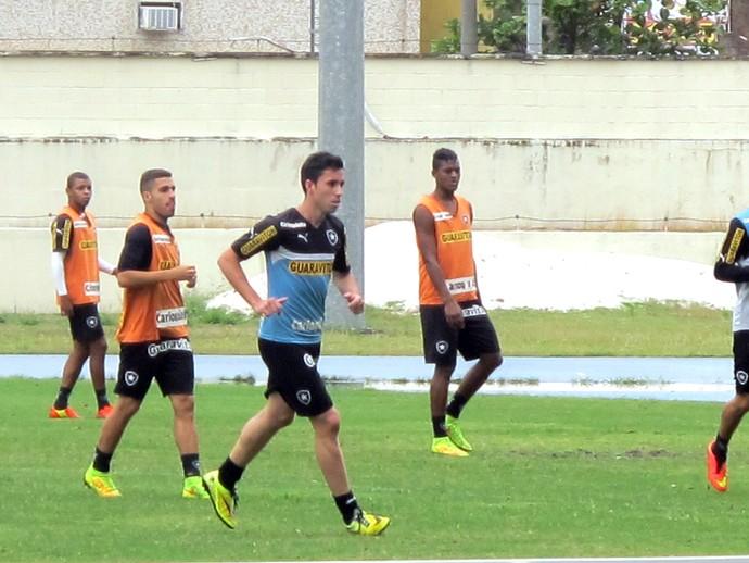 Maikon treino do Botafogo (Foto: Fred Huber / Globoesporte.com)