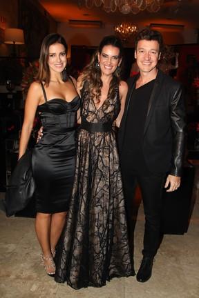 Vera Viel, Andrea Guimarães e Rodrigo Faro (Foto: Manuela Scarpa/Brazil News)