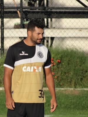 Uéderson, atacante do ASA (Foto: Leonardo Freire/GloboEsporte.com)