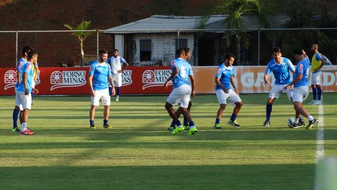 Treino Cruzeiro (Foto: Lucas Borges)