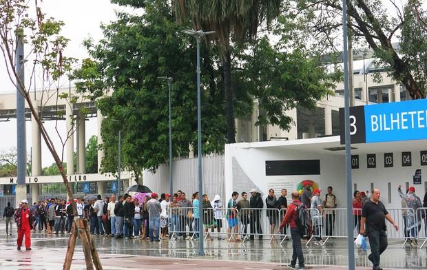 Maracanã  Fila de ingressos Vasco (Foto: Raphael Zarko)
