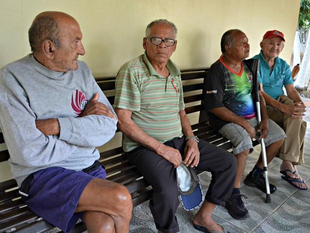 Lar dos Vicentinos abriga idosos de todas as idades e programa dia especial para celebrar o Dia do Idoso (Foto: Aline Nascimento/G1)
