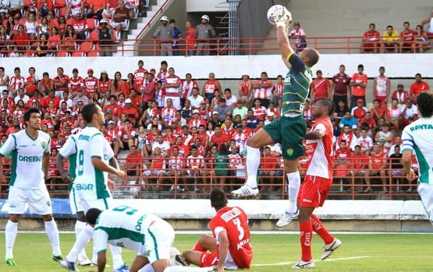 CRB x Cuiabá, em Maceió (Foto: Ailton Cruz/ Gazeta de Alagoas)