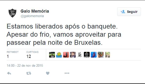 PRINT TWITTER CAMPEÃO DO GELO (Foto: Reprodução/Twitter)