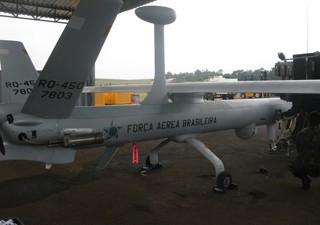 Drones da FAB (Foto: Tahiane Stochero/G1)