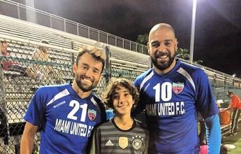"""Miami United reformula elenco para Adriano: """"Não temos medo de nada"""""""