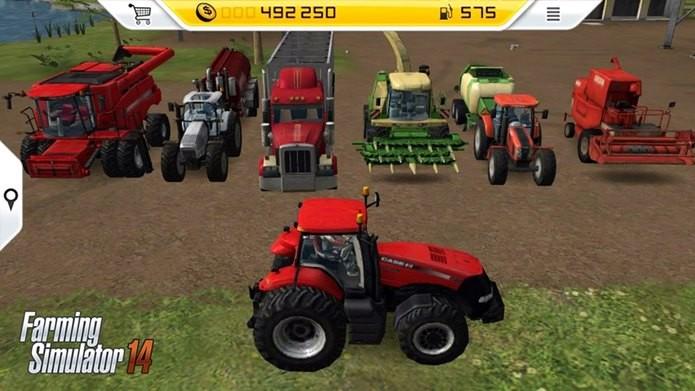 Farming Simulator 14 peca por ter pouco veículos (Foto: Divulgação)