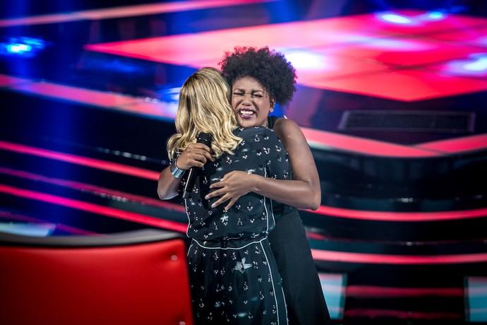 Mylena é #teamClaudiaLeitte (Foto: Isabella Pinheiro/Gshow)
